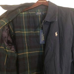Polo Ralph Lauren Aviator Navy Jacket/Coat Size XL
